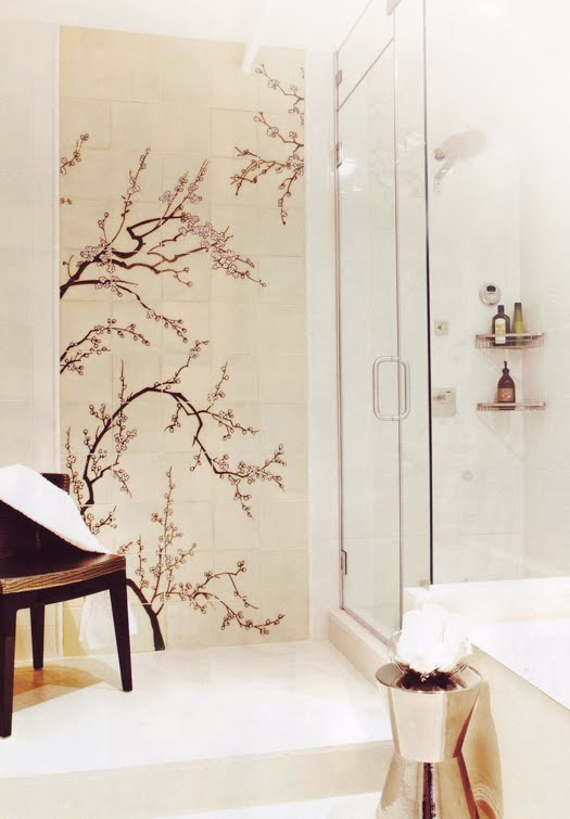Shower Curtains cherry blossom shower curtains : 17 Best images about Bathroom Ideas on Pinterest | Contemporary ...